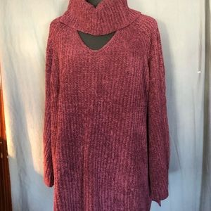 Lb Tunic sweater 18/20.  w/ leggings 1X. Exc con